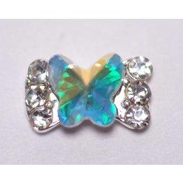 2x Overlay #50 Schleife Schmetterling irisierend