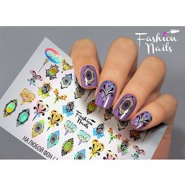 Nail Wraps Galaxy  G34