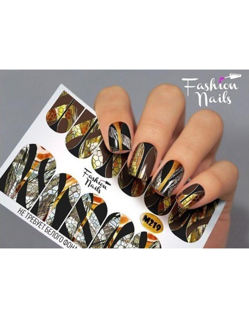Nail Wraps metallic