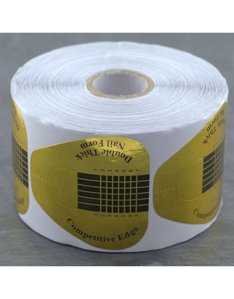500 Modellier Schablonen - Extra breit gold