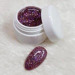 MPK Nails® Basic Glittergel 41 Holo Pink