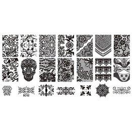 MPK Nails® Stampingplatte #02