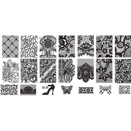 MPK Nails® Stampingplatte #09