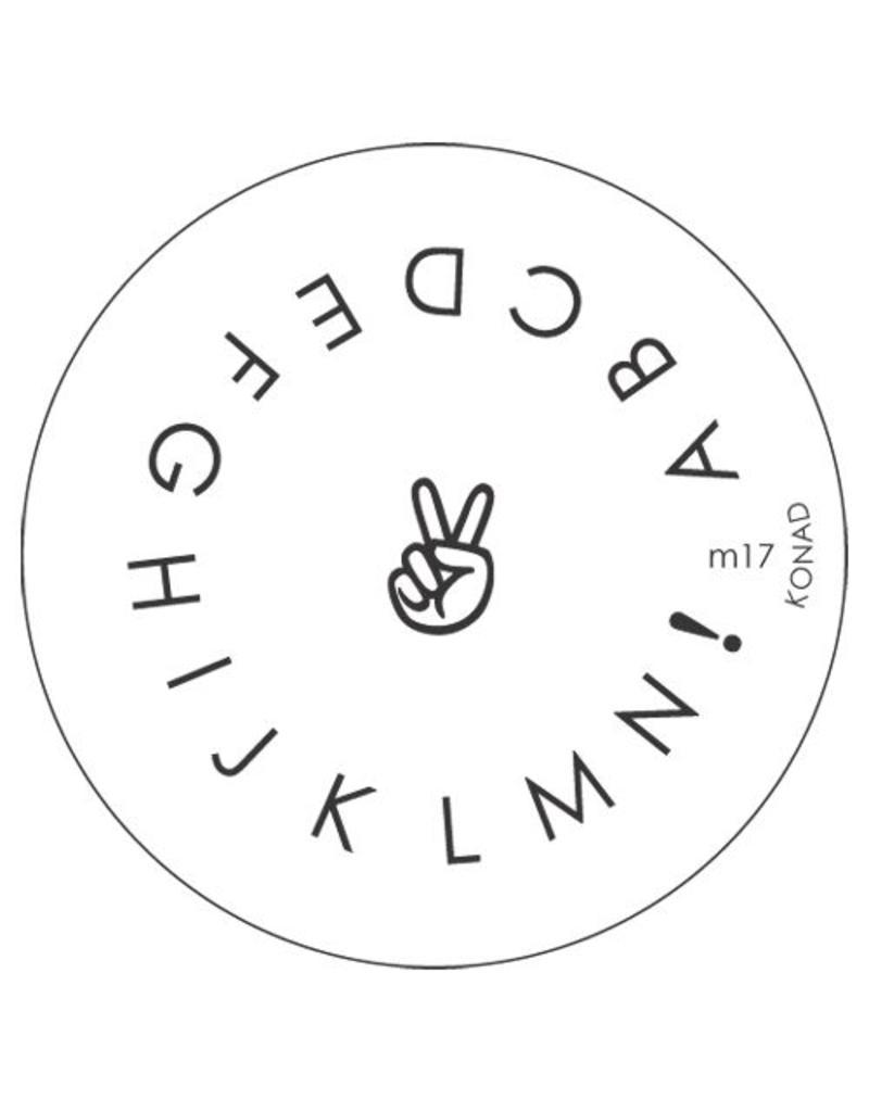 Konad Stamping Schablone m17
