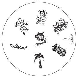 Konad® Konad Stamping Schablone m29