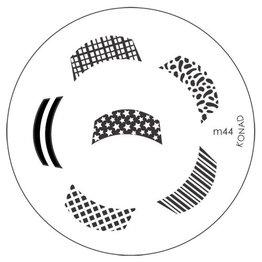 Konad® Konad Stamping Schablone m44
