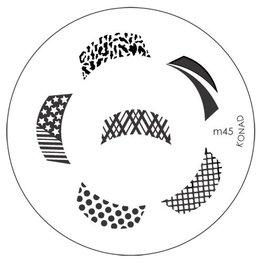 Konad® Konad Stamping Schablone m45