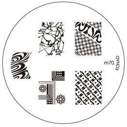 Konad® Konad Stamping Schablone m70