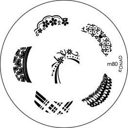 Konad® Konad Stamping Schablone m80