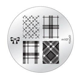 Konad® Konad Stamping Schablone m107