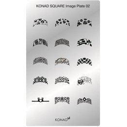 Konad® Konad Stamping Schablone Square2