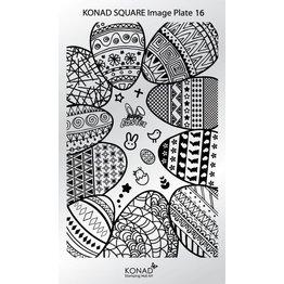 Konad® Konad Stamping Schablone Square16