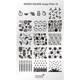 Konad® Konad Stamping Schablone Square18
