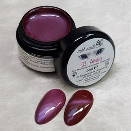 MPK Nails® Deluxe Cat Eye Farbgel 2 Amira 5ml