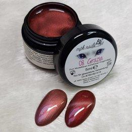 MPK Nails® Deluxe Cat Eye Farbgel 8 Grazia 5ml