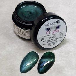MPK Nails® Deluxe Cat Eye Farbgel 7 Jadea 5ml