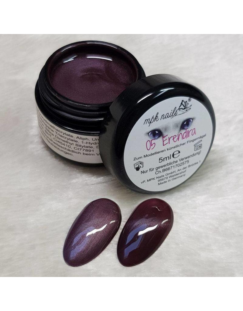 MPK Nails® Deluxe Cat Eye Farbgel 5 Erendira 5ml