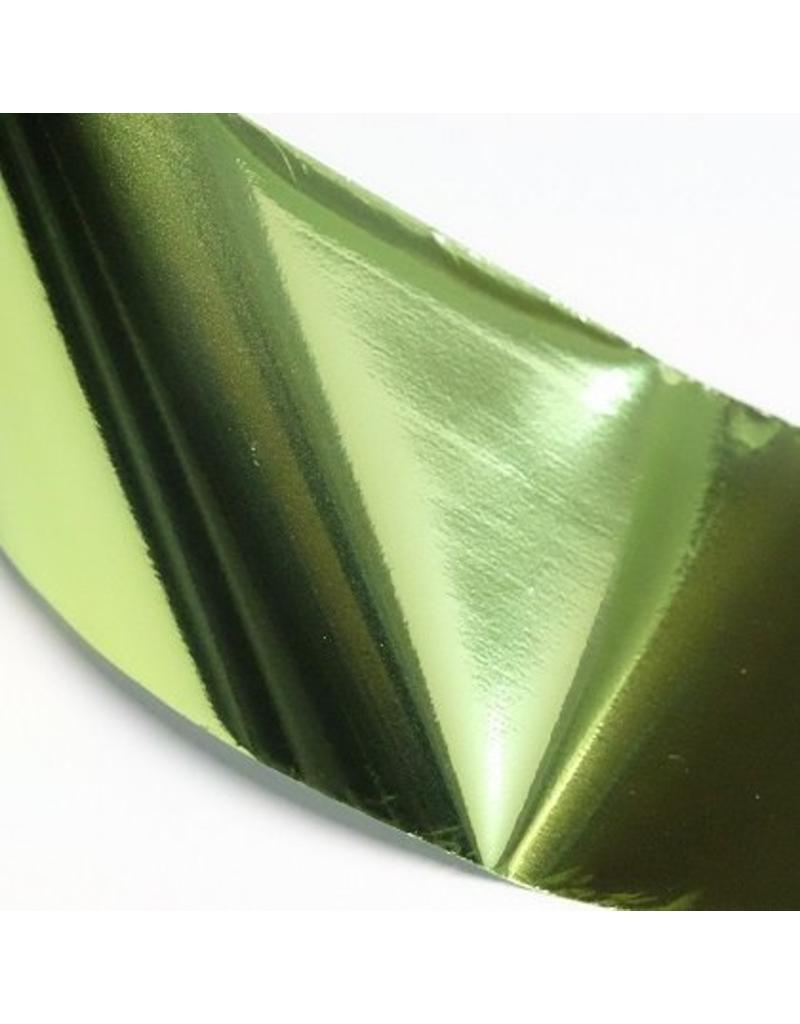Nailart Transfer Folie #37 - Hellgrün metallic