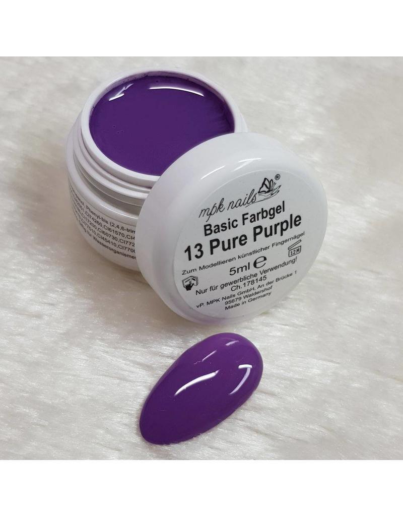 MPK Nails® Basic Farbgel 13 Pure Purple