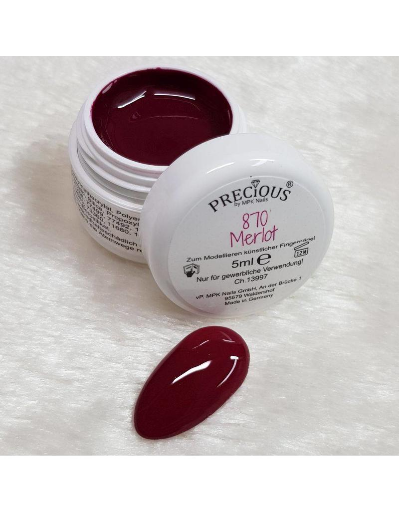 Precious by MPK Nails® Precious Farbgel 870 Merlot