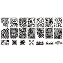 MPK Nails® Stampingplatte #10