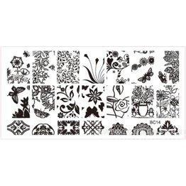 MPK Nails® Stampingplatte #14