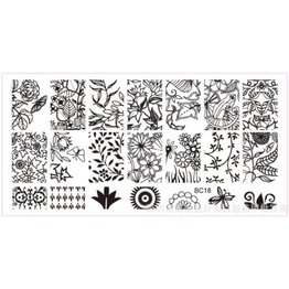 MPK Nails® Stampingplatte #18