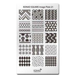Konad® Konad Stamping Schablone Square21