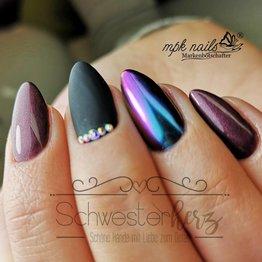 MPK Nails® FlipFlop PigmentRed-Blue