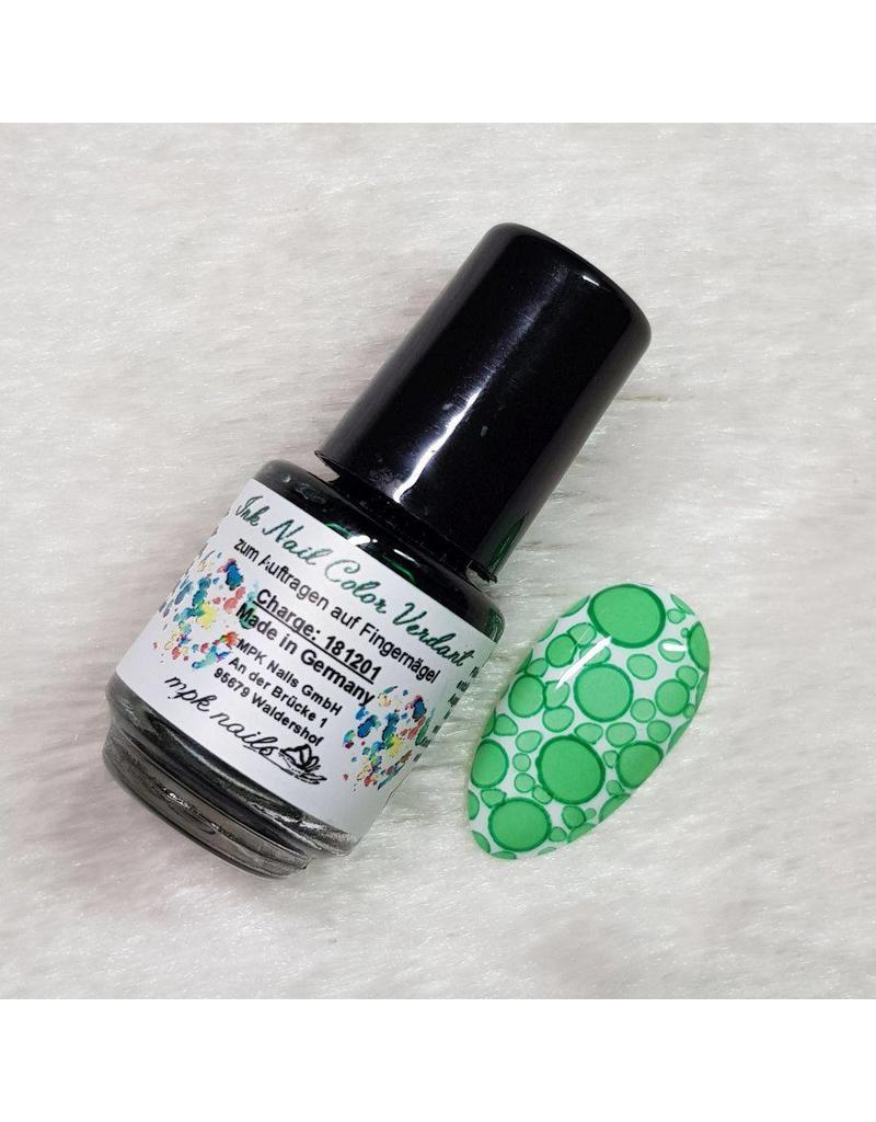 Ink Nail Color Verdant
