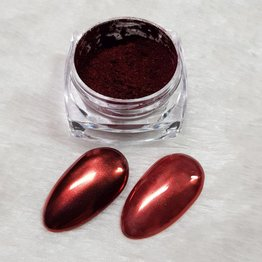 MPK Nails® Chrome Pigment Red Love