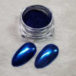 MPK Nails® Chrome Pigment Blue Sea