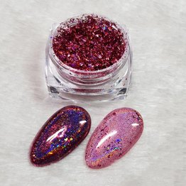 MPK Nails® Holo Flakes Pink Magic
