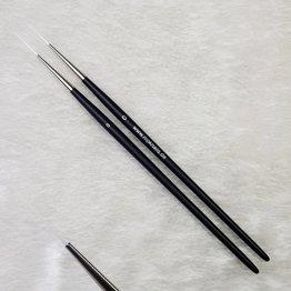 Schlepper lang, weißes Nylon,  ohne Logo