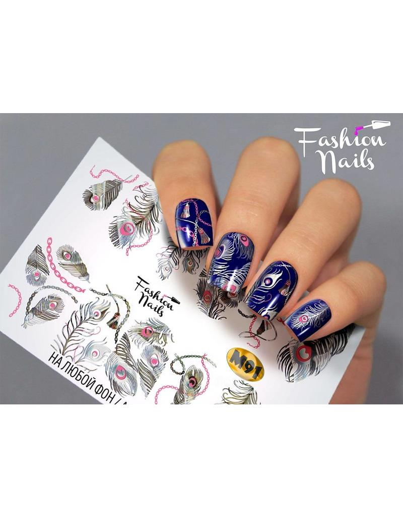 Nail Wraps metallic