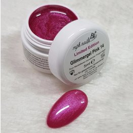 MPK Nails® Glimmer Farbgel Pink - Limited Edition