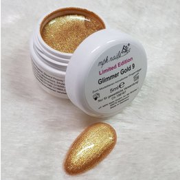 MPK Nails® Glimmer Farbgel Gold - Limited Edition