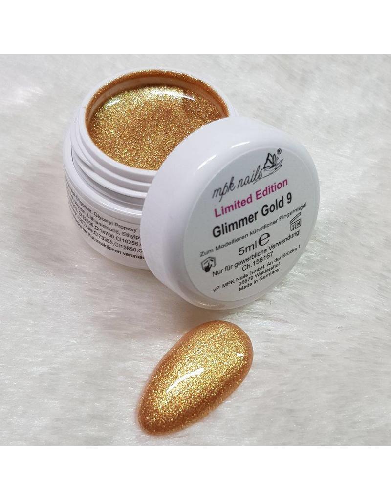 Glimmer Farbgel Gold - Limited Edition