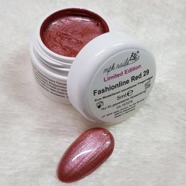 Farbgel Fashionline Red - Limited Edition