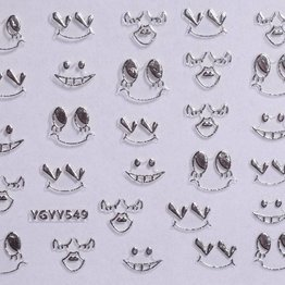 Nail Sticker #YGYY 549