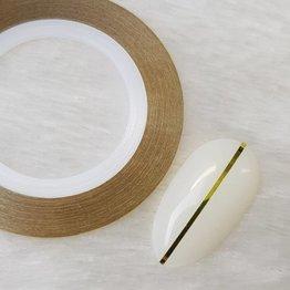 MPK Nails® Nailart Zierstreifen Gelbgold