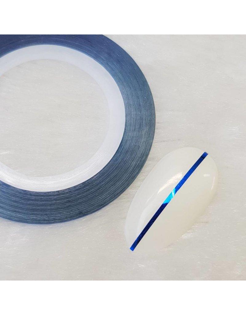 Nailart Zierstreifen Blau