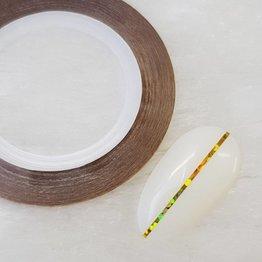 MPK Nails® Nailart Zierstreifen Holo Gold