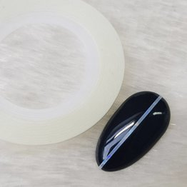 MPK Nails® Nailart Zierstreifen Holo Weiß