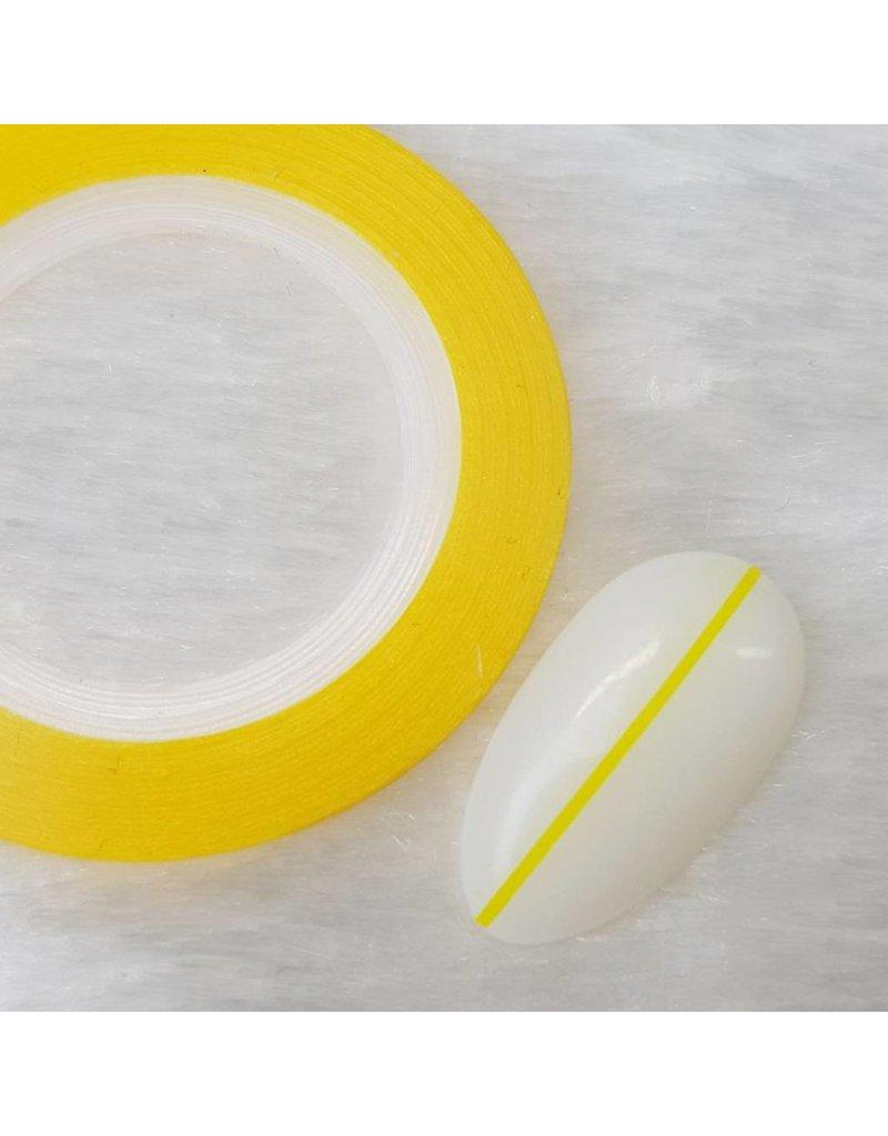 Nailart Zierstreifen Neon Gelb