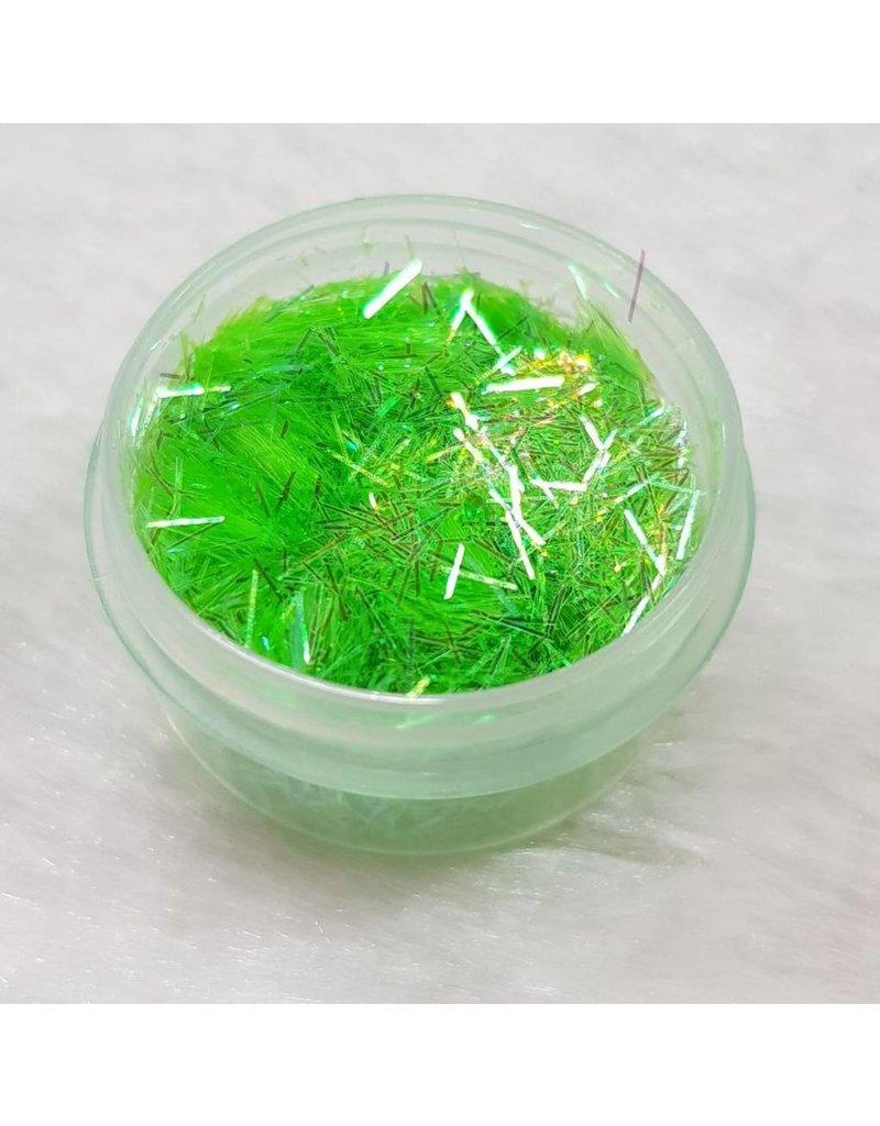 Glitterfäden 19 Grün irisierend