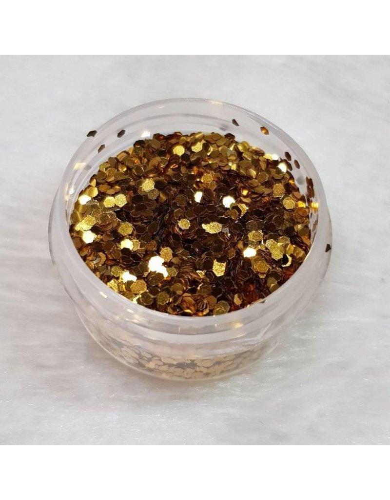 Glitter Pailletten klein 09 Gold