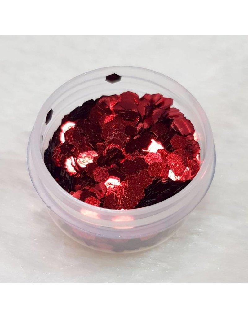 MPK Nails® Glitter Pailletten groß 04 Rot
