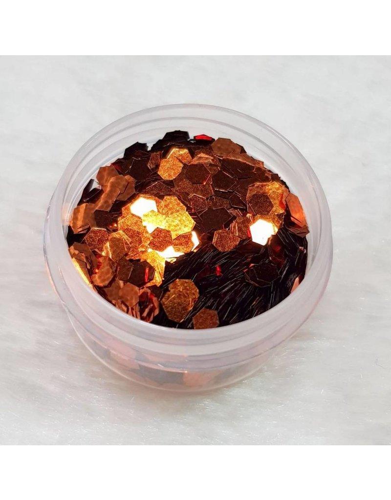 MPK Nails® Glitter Pailletten groß 05 Orange