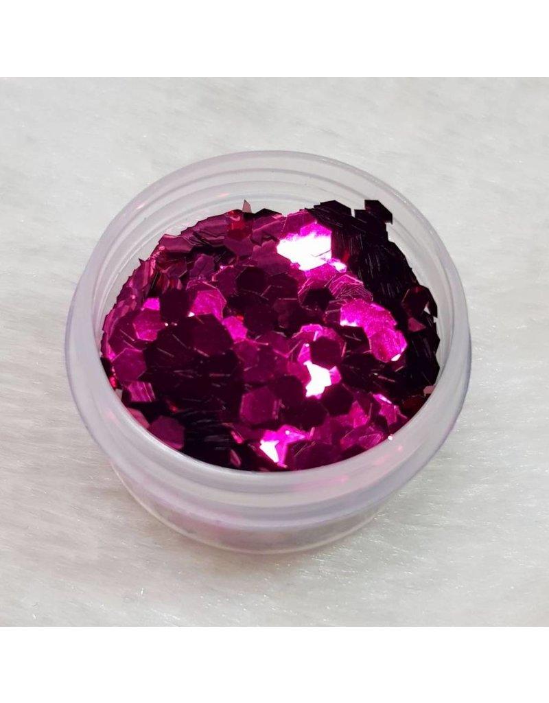 MPK Nails® Glitter Pailletten groß 10 Burgunder